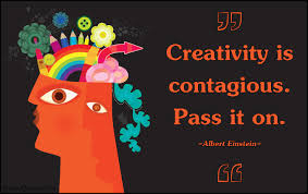Contagious by Creativity Is Contagious Pass It On Popular Inspirational