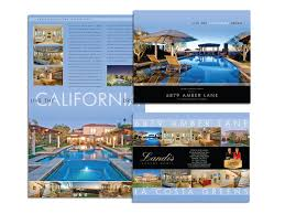 deluxe four page brochures luxvt real estate marketing