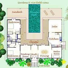 layout floor plan thailand villa floor plan and layout of rice paddy villa