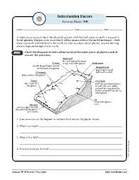 glaciers u2014geography worksheets and activities teacherlingo com