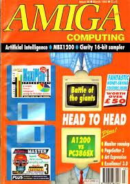 amigaland v6 05 amiga computing issue 058 1993 mar
