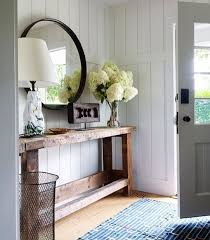 hallway table with drawers and interesting ornaments home interiors