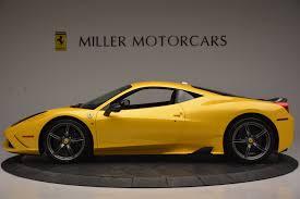 Ferrari 458 Yellow - 2015 ferrari 458 speciale stock 4370 for sale near westport ct