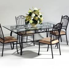 Patio Table Legs Dining Tables Marvelous Wrought Iron Dining Table Legs Round