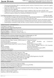 Resume Sample Engineer by Engineering Resume Examples Resume Professional Writers