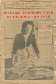 spirit of halloween halifax canada wartime economy book of recipes 1945 wwii food