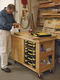 Fine Woodworking Magazine Tool Reviews by Organize Your Shop With Smart Carts Finewoodworking