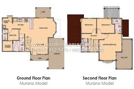 House Design With Floor Plan Philippines Two Storey House Floor Plans In Philippines 1 Two Storey House