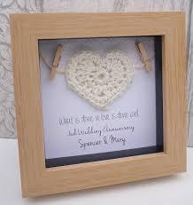 2nd wedding anniversary gift 2nd anniversary gift 2nd cotton anniversary gift cotton