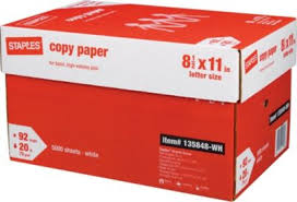 paper ream box ream of copy paper 5000sh bx cms cleaning services supplies