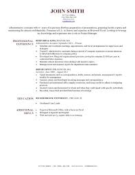 Executive Resume Template by Is There A Resume Template In Microsoft Word The 25 Best