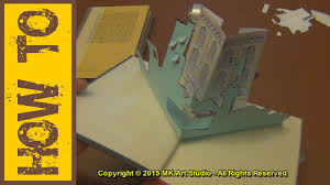 how to make pop up book