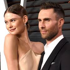 behati prinsloo and adam levine cutest moments pictures popsugar