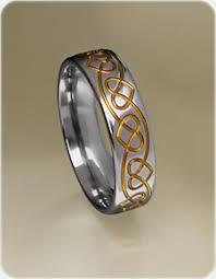 celtic ring celtic heart ring in titanium