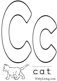 c is for cat coloring page printable coloring pages letter d letter d coloring pages