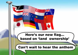 Flag New Zealand Craig Powell Cartoon A New Flag Design For Nz Scoop News