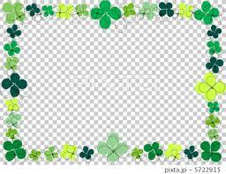 Decorative Frame Png Decorative Frame Four Leaf Clover Frame Stock Illustration