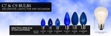 what is the difference between c7 and c9 lights c7 c9 light bulbs yard envy