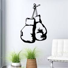 boxing gloves fighting sports wall stickers home decor living wall boxing gloves fighting sports wall stickers home decor living wall mural sticker decal wallpaper boy bedroom home art decoration in wall stickers from home