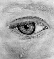 crying eye by mulvin on deviantart