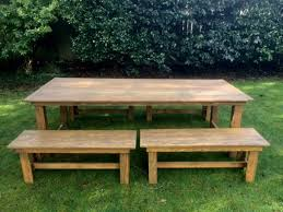 Rent Picnic Tables Rent Farm Tables For Weddings The Journal Of The San Juan Islands