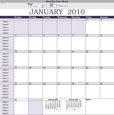 monthly timesheet template with notes