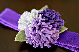 felt flower headband diy tutorial felted flower headband see craft
