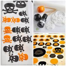halloween red velvet mini cupcakes u0026 diy skull toppers i sugar