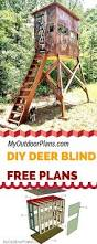 2 Person Deer Blind Plans 20 Free Diy Deer Stand Plans And Ideas Perfect For Hunting Season