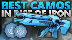 destiny best looking weapon camo s in rise of iron ornaments