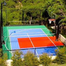 Backyard Sport Court Cost by Backyard Basketball Courts Home Sport Courts Middle Tennessee