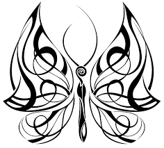 butterfly drawings tribal butterfly 4 celtic