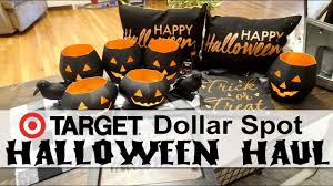 halloween decor haul target dollar spot u0026 dollar tree youtube