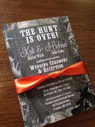 camo wedding invitations camo wedding invitation set the hunt is wedding invitation