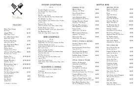 lowbrau bierhalle drink menu
