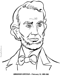 abraham lincoln coloring pages george washington abraham