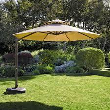 Patio Umbrella Sunbrella Cantilever Umbrella Sunbrella Stylish Set 11 Ft Sam S Club
