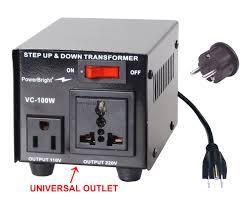 Good Warranty C2 B8 Official Store C2 B8 Simple Steps Amazon Com Power Bright Vc100w Voltage Transformer 100 Watt Step