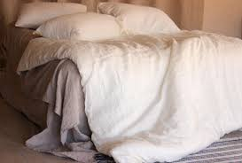 stone washed ivory off white linen duvet cover super soft