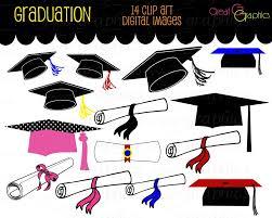 graduation items graduation clip graduation clipart digital graduation caps