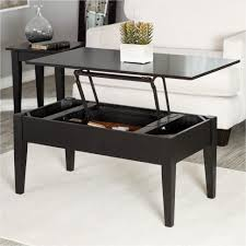 coffee table coffee table black target wood storage lift top