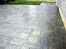 Lowes Patio Pavers Designs Others Large Concrete Pavers For Quickly Create A Patio With A