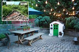 City Backyard Take It Outside With Brooklyn Limestone Beautiful Blogger