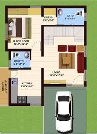 East Facing Duplex House Floor Plans by Vsg Developers Offers Cheapest Rates On Approved Residential