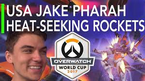 Seeking Usa Overwatch Usa Vs Brazil Jake S Pharah Has Heat Seeking Rockets