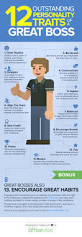 Nice Characteristic 12 Personality Traits That Make You A Rock Star Boss Infographic