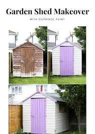 garden shed makeover hack before and after diy your beauty