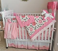 girls bedding pink handmade 8 piece