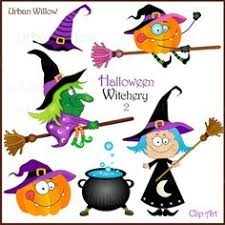 halloween clipart cute collection