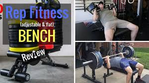 Buy Flat Bench Rep Fitness Adjustable U0026 Flat Bench Review Youtube